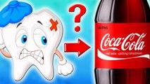 ЧТО БУДЕТ, ЕСЛИ ПОЛОЖИТЬ ЗУБ в КОКА - КОЛУ на 3 года Coca-Cola