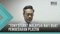 """Tony Stark"" Malaysia nafi buat pembedahan plastik"