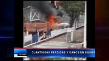VIDEO | QUITO: Vándalos causan destrozos en canal Teleamazonas