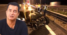 Acun Ilıcalı lüks aracıyla kaza yaptı! Otomobil paramparça oldu