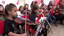 Barış Pınarı Harekatı'nın kahramanlarına bir destek de çocuklarından geldi