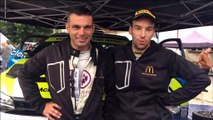 Antonin Mougin et Florent Diottin ont préparé la finale de la Coupe de France au rallye de la Haute-Saône