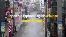Japon : le typhon Hagibis a fait au moins 26 morts