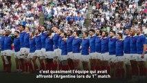 « Un défi pour le staff » - Rugby - Mondial - Bleus