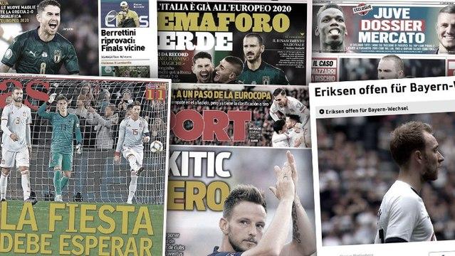 Paul Pogba et Mauro Icardi toujours dans le viseur de la Juve, toute l'Italie fête la qualification de la Squadra Azzura