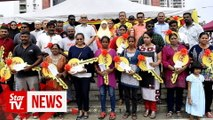 Transit homes given to 24 squatter families