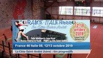 Huitième tour, tir progressif, France / Italie féminin, La Côte-Saint-André 2019