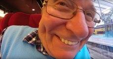 Ce papy a eu la malchance de filmer toutes ses vacances avec une GoPro… à l'envers