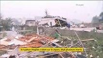Le Japon est balayé par le typhon Hagibis