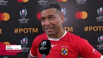 Siale Piutau wins Player of the Match for Tonga