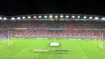Mondial de rugby - Japon-Écosse : une minute de silence pour rendre hommage aux victimes du typhon