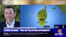 """Cargo échoué: Jean-Michel Orsucci, maire de Bonifacio affirme que pour l'instant """"il n'y a pas de pollution constatée"""""""