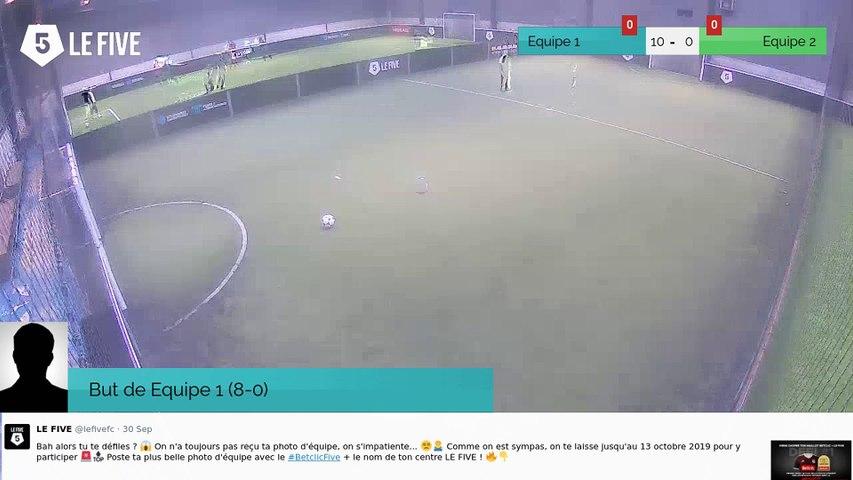 But de Equipe 1 (10-0)