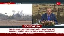 Başkan Erdoğan konuşuyor