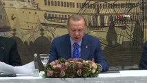 Cumhurbaşkanı Erdoğan: 'Sınır şehirlerimize yapılan saldırılarda önemli bir bölümü çocuk olmak üzere 18 vatandaşımız şehit oldu. 147 vatandaşımız da yaralandı'