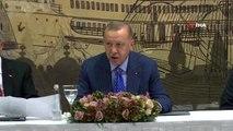 """Cumhurbaşkanı Erdoğan: """"Sınır şehirlerimize yapılan saldırılarda önemli bir bölümü çocuk olmak..."""
