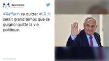 L'ancien Premier ministre Jean-Pierre Raffarin va quitter Les Républicains