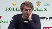 """ATP - Shanghai 2019 - Alexander Zverev is still in the running for the London Masters : """"It's a positive week"""""""