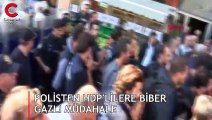 Polisten HDP'lilere biber gazlı müdahale