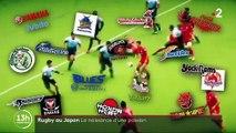 Coupe du monde au Japon : le rugby, nouvelle passion des Nippons