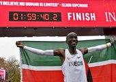 Eliud Kipchoge court un marathon... en moins de deux heures