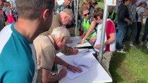 Contournement de Wavre: plusieurs centaines d'opposants ont formé une chaine humaine