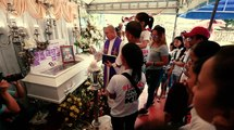 'EJK' victim in Marikina is laid to rest