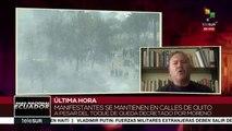 Borja: no es necesario reprimir a las voces contrarias a un gobierno