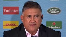 Rugby - 2019 World Cup - Japan Head coach Jamie Joseph on historic win