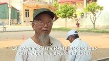 Les retraités vietnamiens mordus de croquet