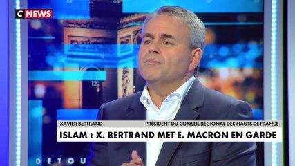 Xavier Bertrand - CNews dimanche 13 octobre 2019