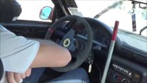 GYMKHANA  N  6  se gare au frein a main - vive la glisse jurassienne