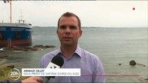 Corse : un cargo s'échoue dans une réserve naturelle