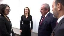 - TBMM Başkanı Şentop, PAB Başkanı Barron ile görüştü