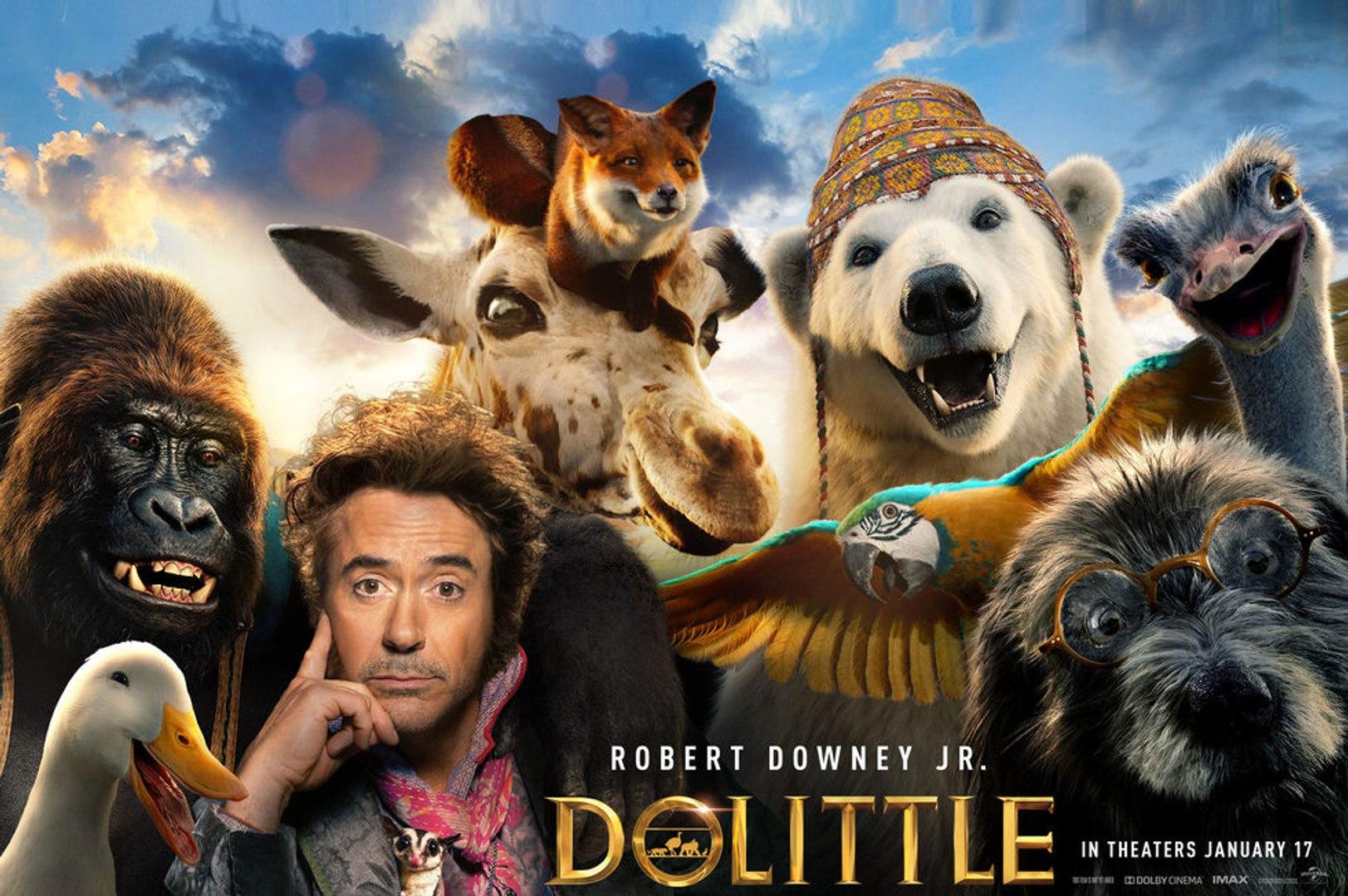 Dolittle Film 2020 News Film 2020