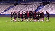 Fransa-Türkiye maçına doğru - A Milli Takım son antrenmanını yaptı - SAINT
