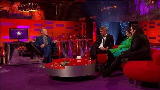 Sean Penn Threatens His Daughter's Date - The Graham Norton Show