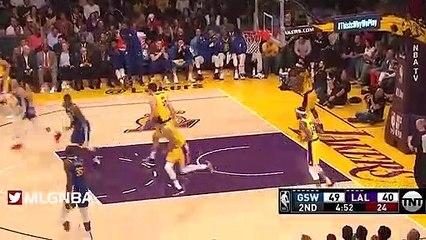 NBA 2018-19 - LA Lakers vs GS Warriors - 01_21_2019 - Highlights