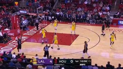 NBA 2018-19 - LA Lakers vs Houston Rockets - 01_19_2019 - Highlights