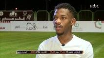 خالد الكعبي نجم نادي الفيصلي السعودي في لقاء مميز بصدى الملاعب