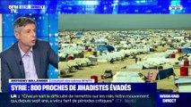 Syrie: près 800 proches de jihadistes se seraient enfuis d'un camp - 13/10
