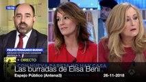 Las burradas de Elisa Beni con tal de ser la más feminista del planeta
