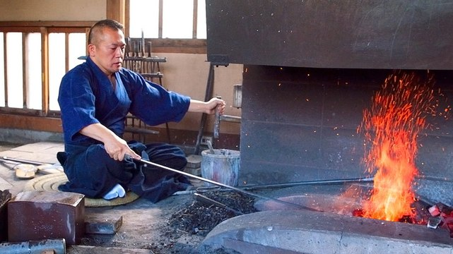 Traditional Japanese swords can take over 18 months to create — here's what makes them so special