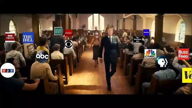 Donald Trump fake mass shooting campaign video