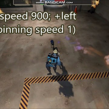 Team Fortress 2 - Panic Spinning velocity test