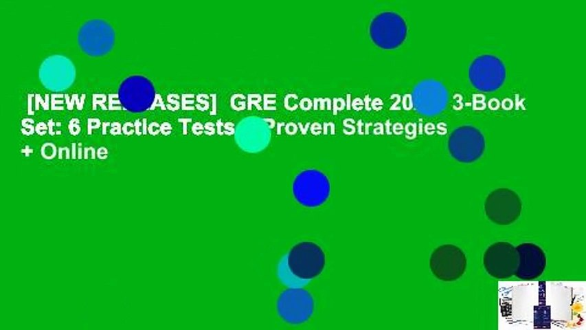 [NEW RELEASES]  GRE Complete 2020: 3-Book Set: 6 Practice Tests + Proven Strategies + Online