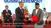 China's Xi promises aid, development in Nepal visit