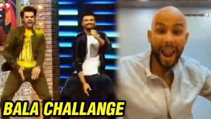 Arjun Kapoor Kareena Kapoor Ranveer Singh Siddhant Chaturvedi And Other Stars Take Akshay Kumar S Bala Challenge Watcxh Video