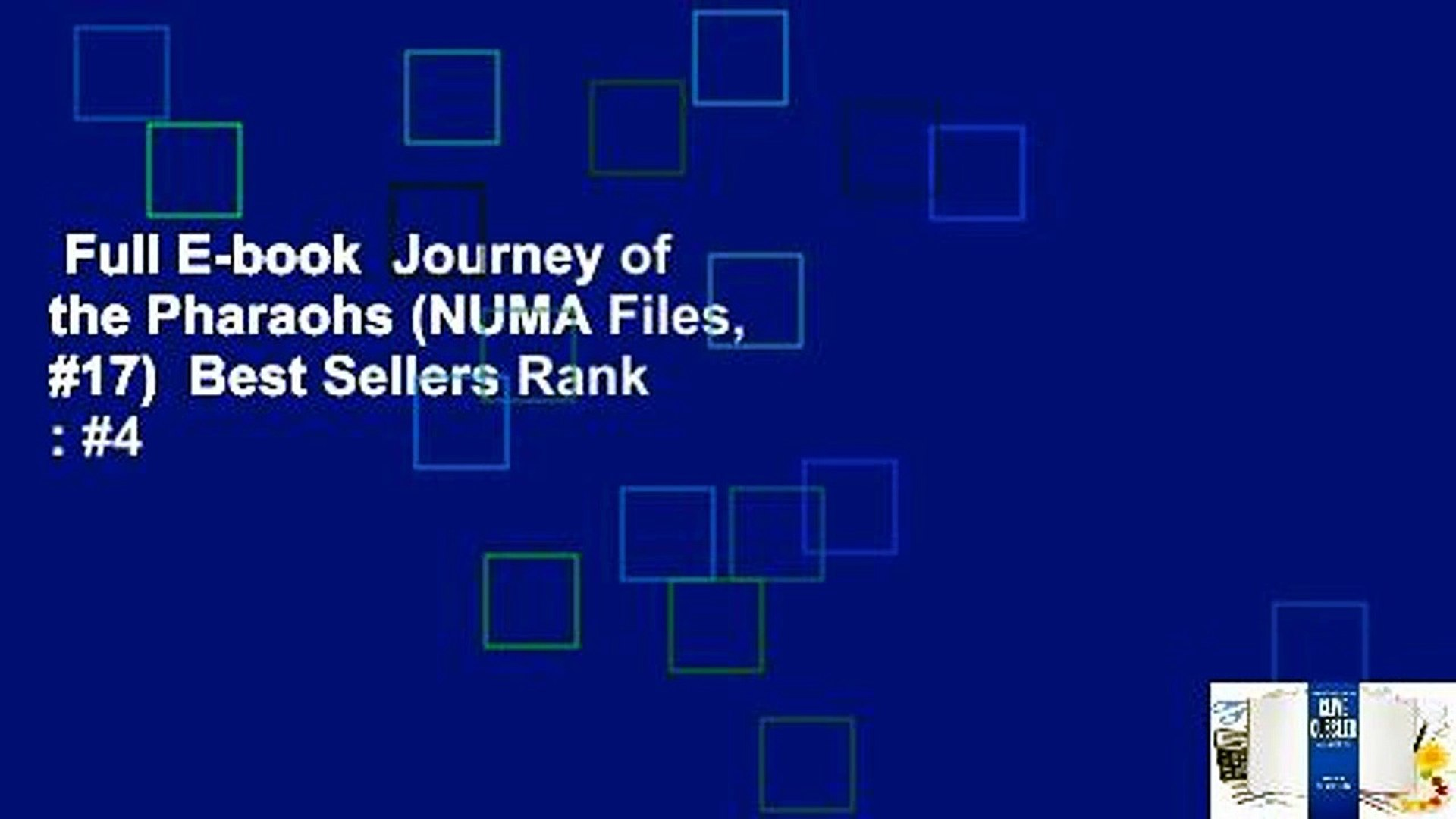 Full E-book  Journey of the Pharaohs (NUMA Files, #17)  Best Sellers Rank : #4