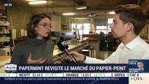 La France qui bouge: PaperMint revisite le marché du papier peint, Julien Gagliardi - 14/10
